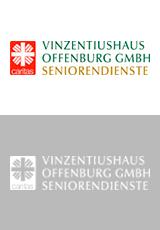 Vinzentiushaus Offenburg GmbH Seniorendienst Logo Referenzkunde