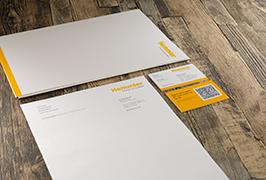 Corporate Design Briefpapier Visitenkarte Hemmler Vorschau