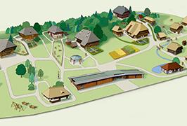 Illustration Vogtsbauernhof Vorschau