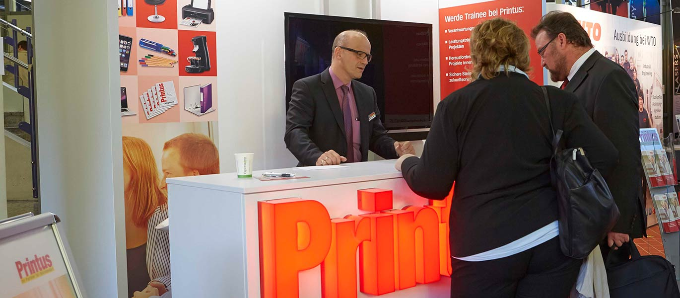Messestand Printus FH-Messe Offenburg