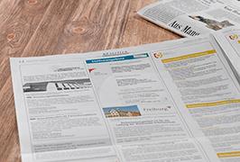 Anzeige Stellenangebot Stadt Offenburg Vorschau