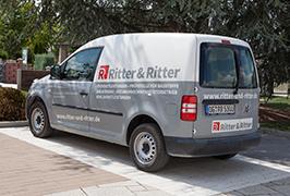 Weitere Leistungen Fahrzeugbeschriftung PKW Ritter & Ritter Vorschau