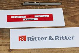 Ritter und Ritter Logo-Neugestaltung Vorschau