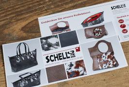 Schellbag – Taschendesign – Flyergestaltung