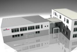 3D-Visualisierung Gebäude