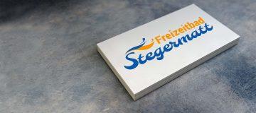 Freizeitbad Stegermatt Logo