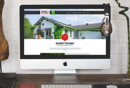 HB Brett Holzbau Website