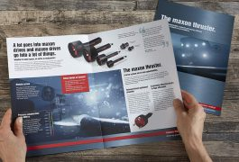 Maxon Motor GmbH Print Imagebroschüre