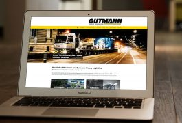 Spedition Gutmann Internetauftritt