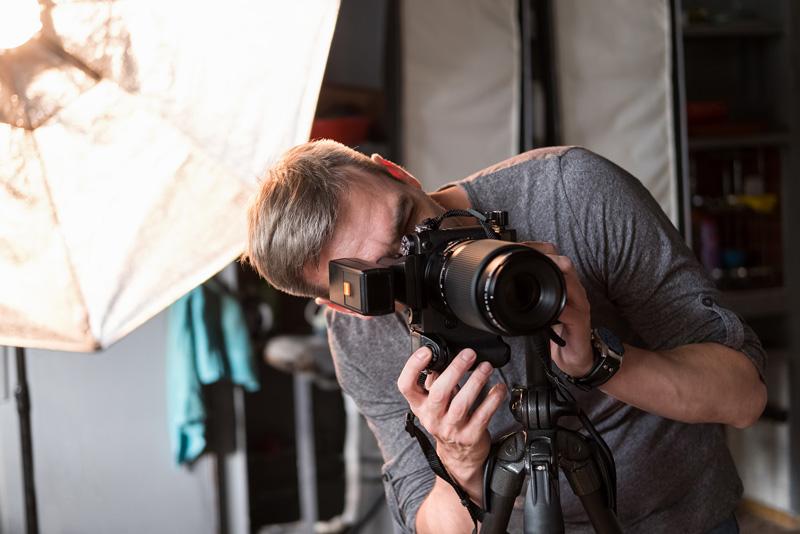 Stellen Auszubildender Fotograf